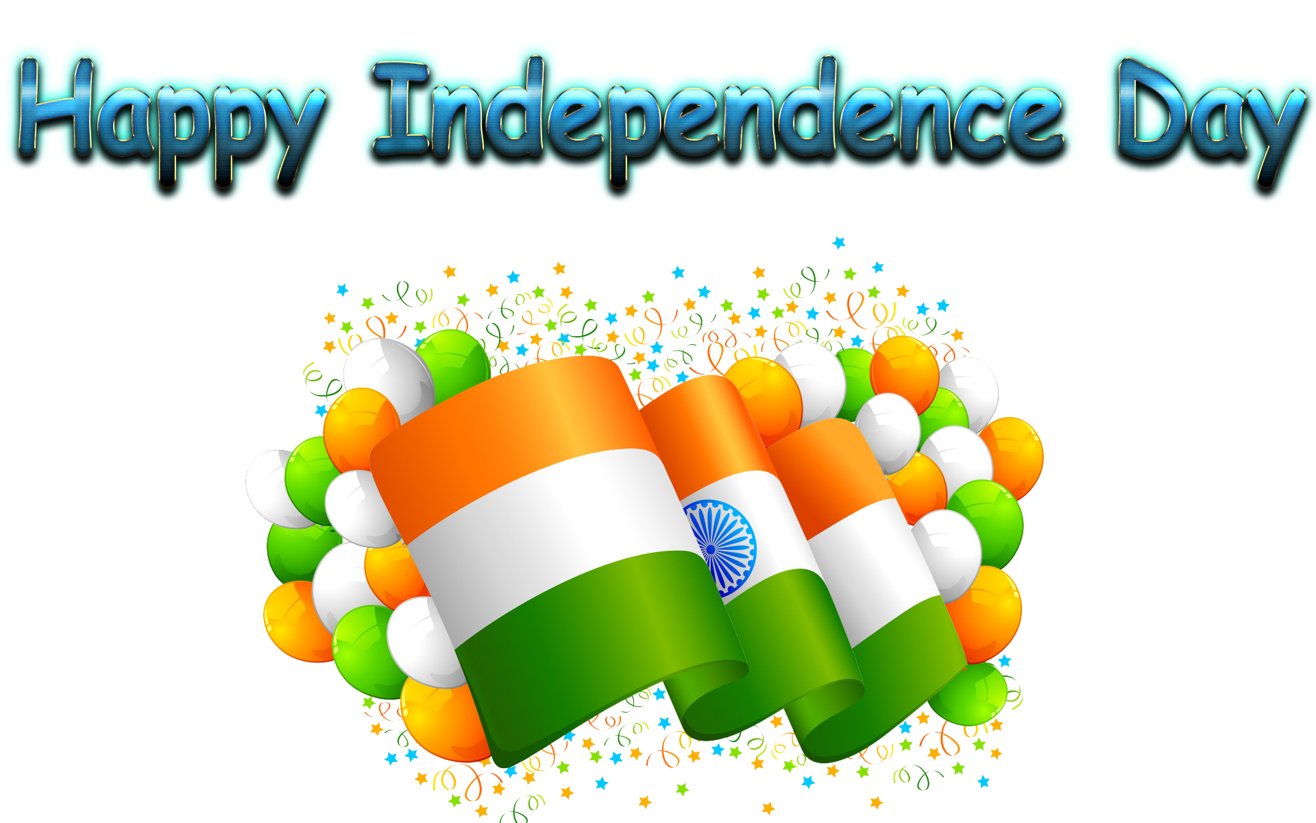 Independence Day 2018 PNG Images.
