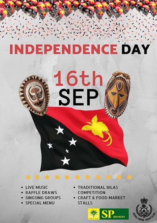 PNG Independence Day 2018 at Royal Papua Yacht ClubChampion.