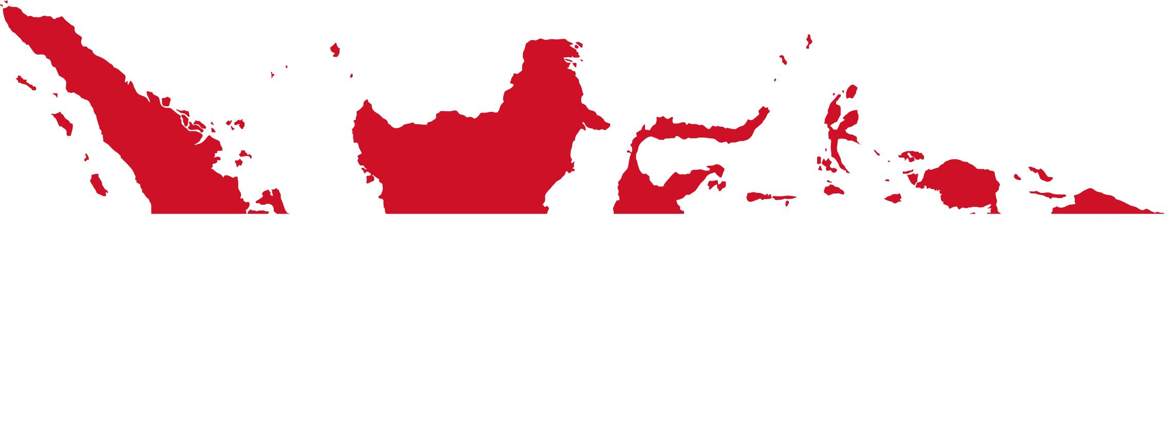 Indonesia Map Flag Png.
