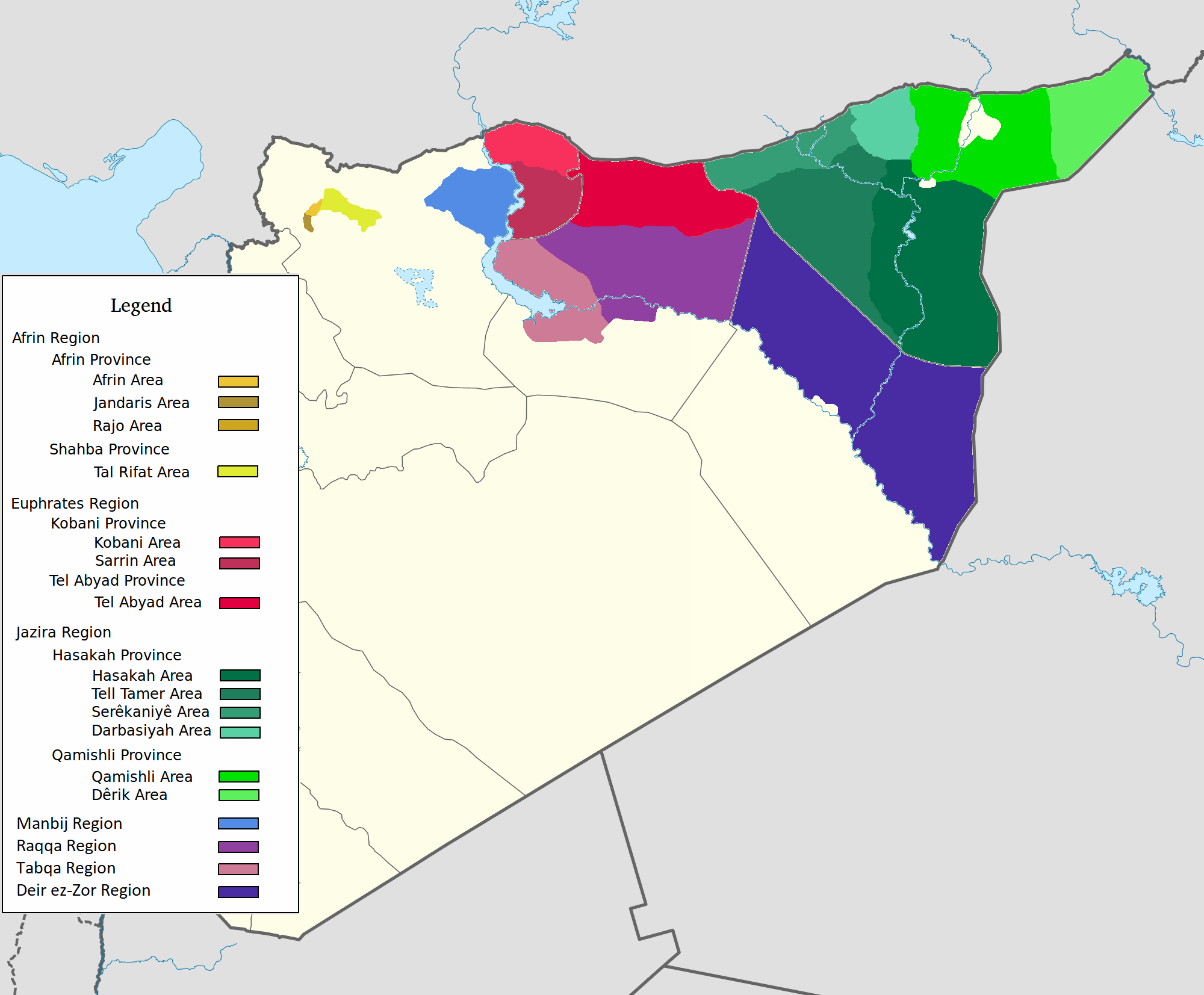 Rojava.