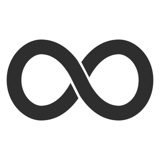Simple infinity logo infinite.