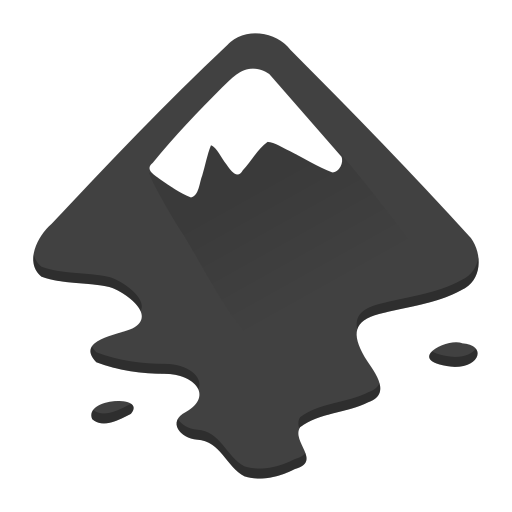 Inkscape Icon Free of Super Flat Remix V1.08 Apps.