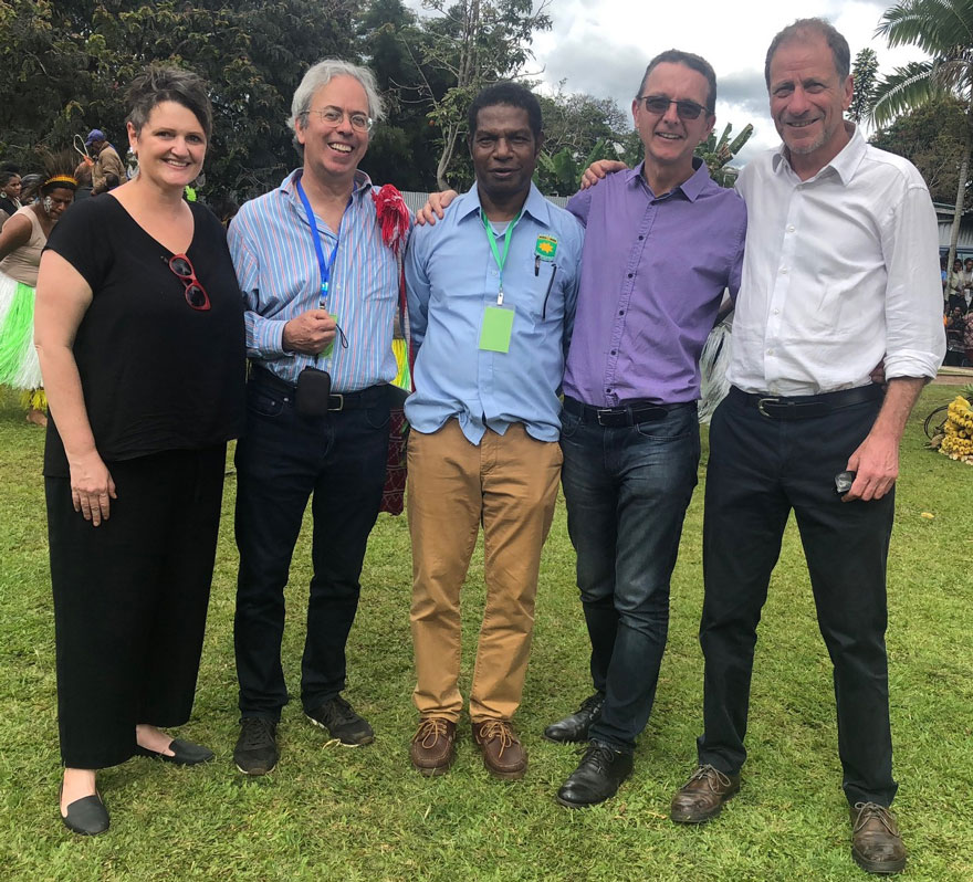 Kirby Institute researchers join celebrations in Goroka for.