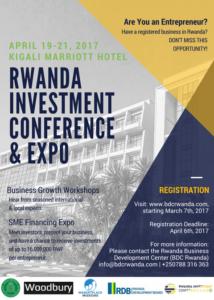 Rwanda Investment Conference 2017.