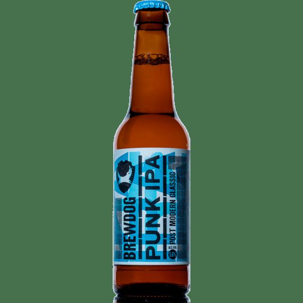 Brewdog Punk IPA Bottle transparent PNG.