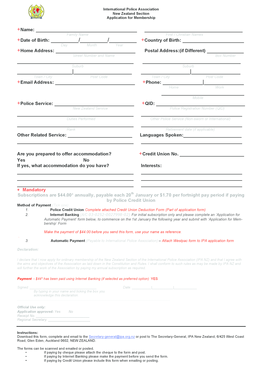 Fillable Online ipa org IPA Member Join Form 12 2015.docx.