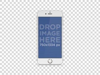 White iPhone 6 Portrait.