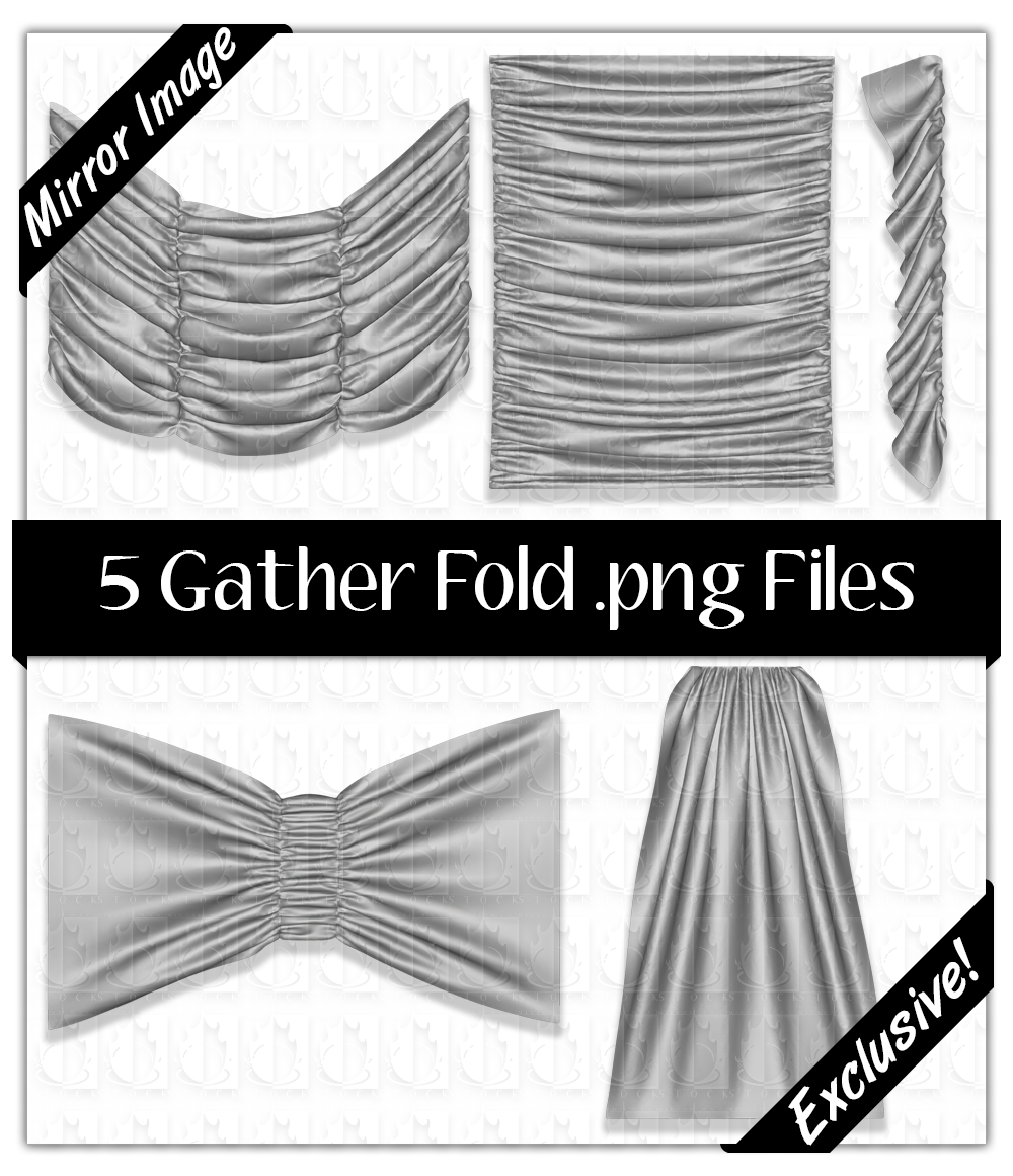 5 Gather Fold .png Files Pack 2.