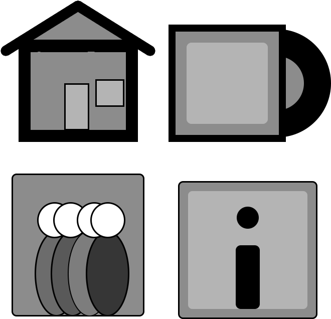This Is An Icon Set That Could Be Used For A Potential.
