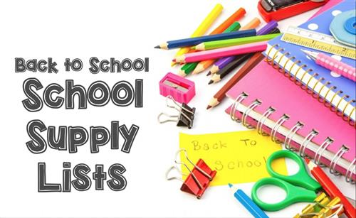 Elementary / School Supply List.
