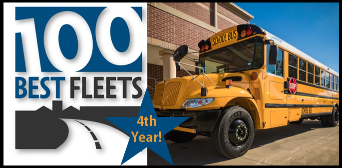 Humble ISD Transportation Listed Among Top 100 Fleets in.