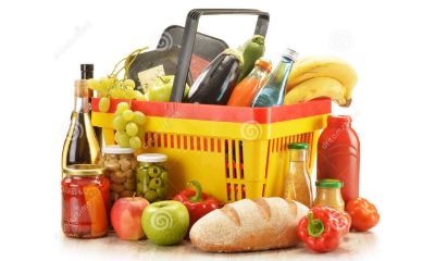 Grocery Items Png Vector, Clipart, PSD.