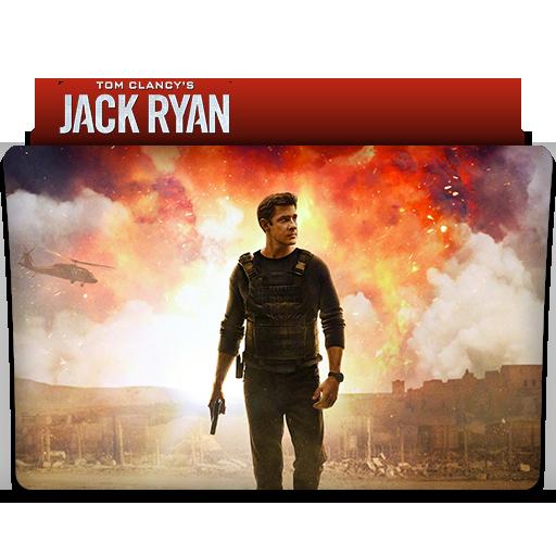 Tom Clancy\'s Jack Ryan : TV Series Folder Icon v2 by.