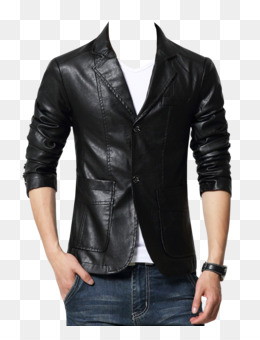 Leather Jacket PNG.