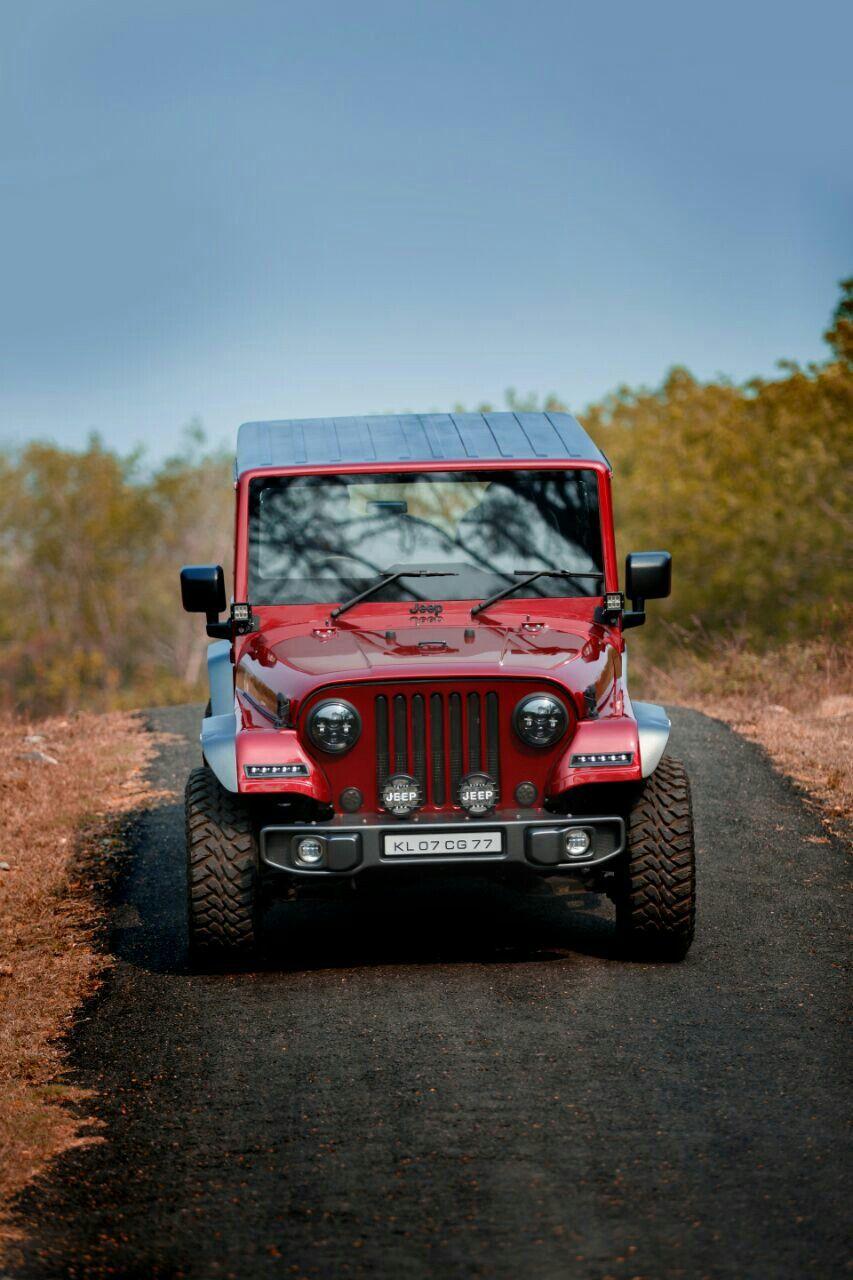 Mahindra Thar CRDi 4x4 modified into Jeep.