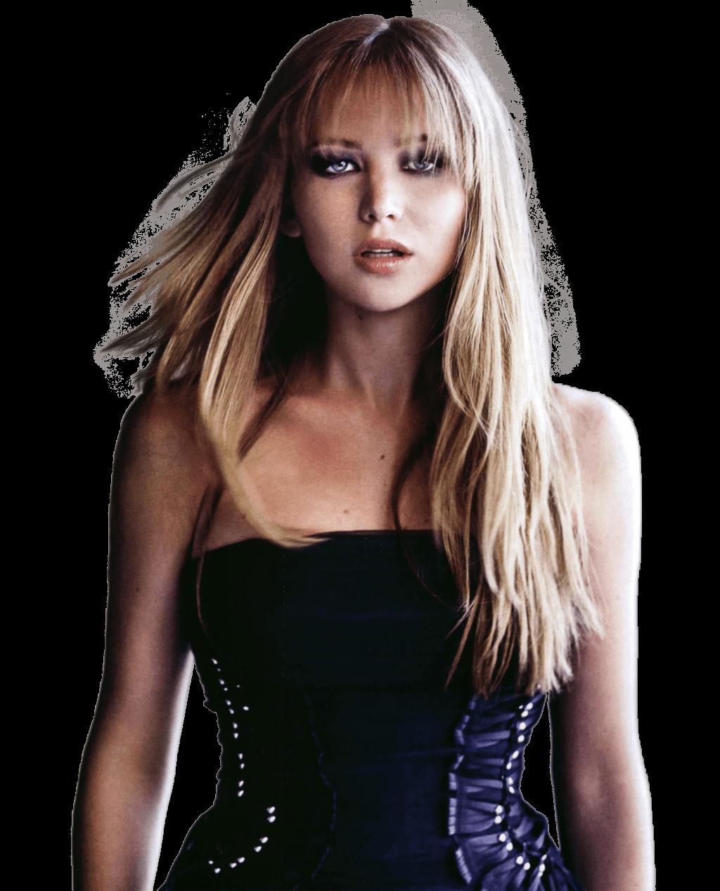 Jennifer Lawrence Make Up transparent PNG.