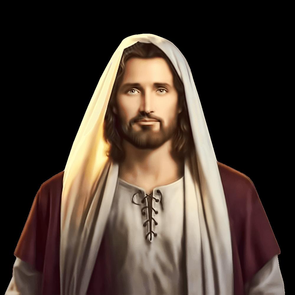 Jesus Christ Smiling transparent PNG.