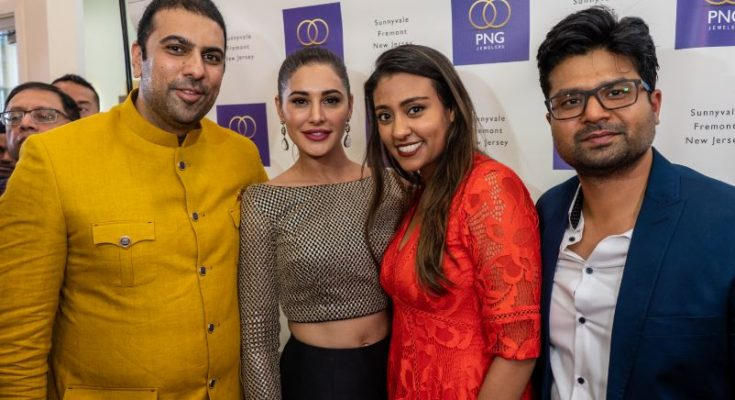 Join Nargis Fakhri at the Grand Opening of PNG Jewelers.