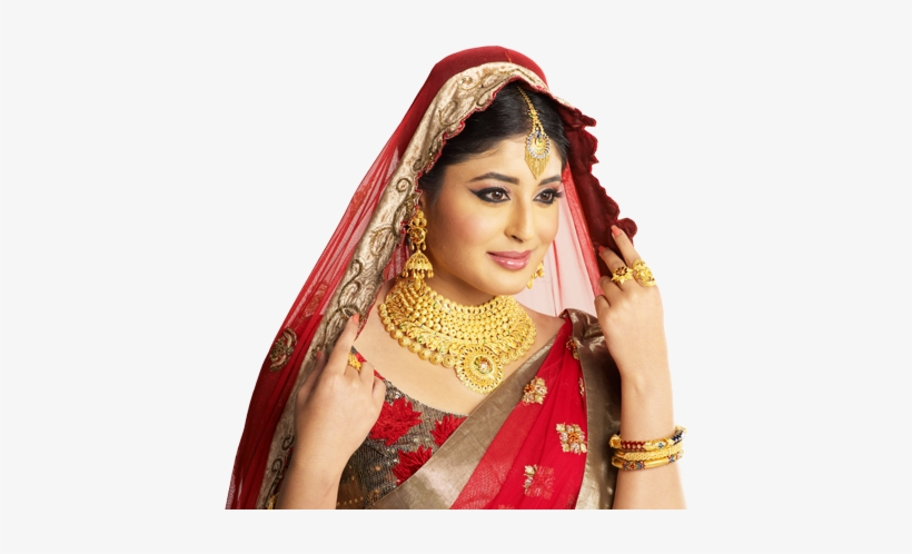 Gold South Indian Jewellery Ad.
