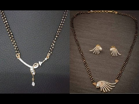 Diamond Mangalsutra Designs.