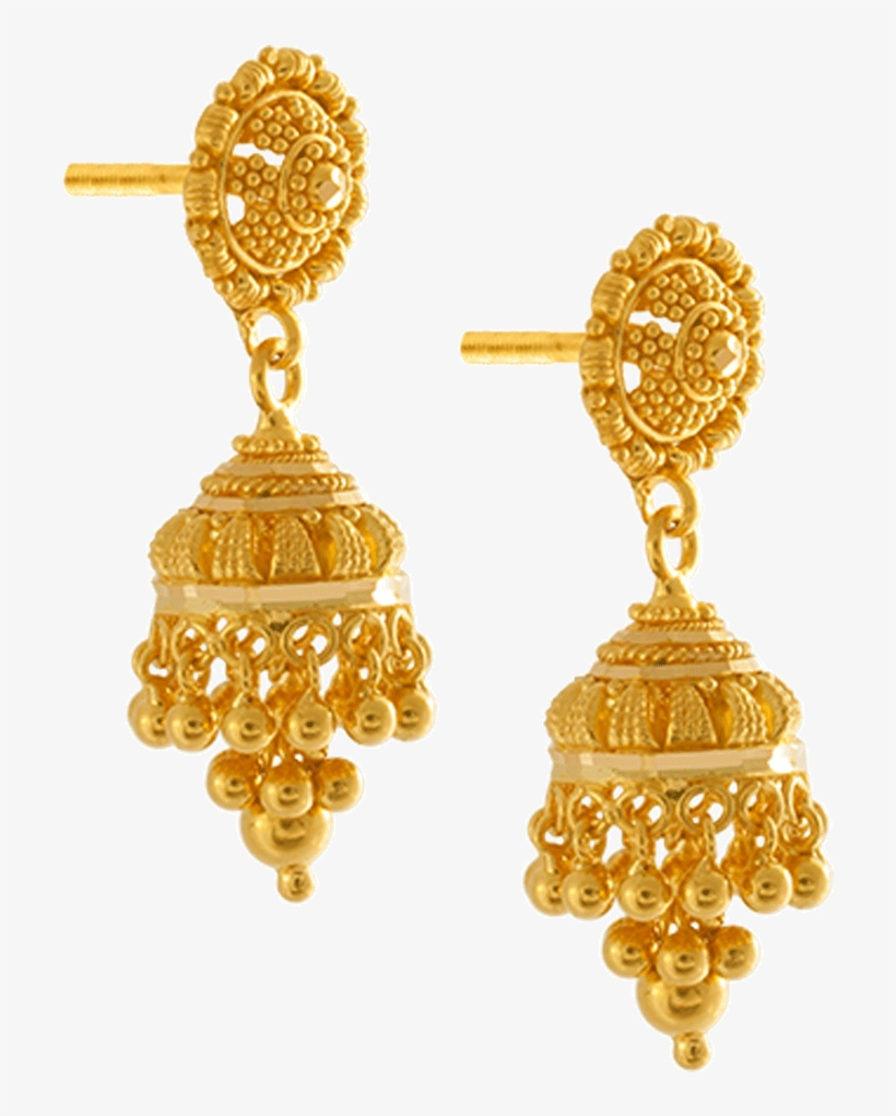 22k Yellow Gold Earrings.