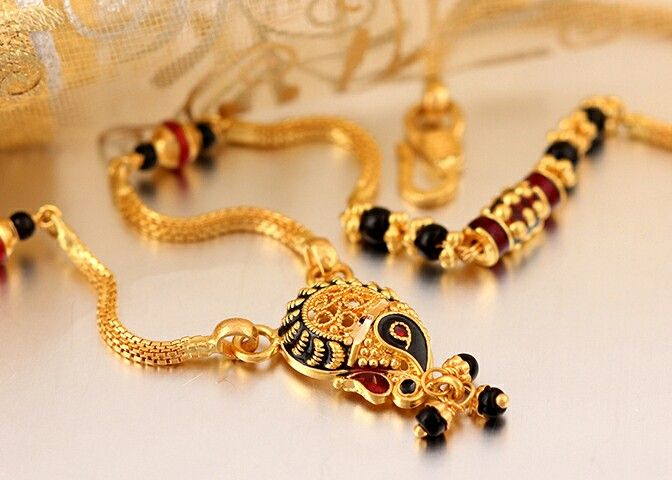 Pin by gauri khare on Mangalsutra designs.