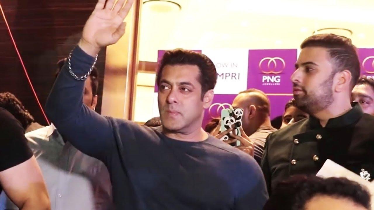 Salman Khan At PNG Jewellers GRAND Inauguration.