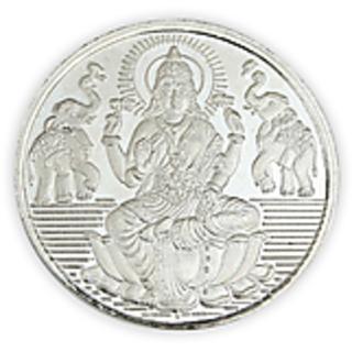 Chahat Jewellers 20gms Silver Lakshmi Coin.
