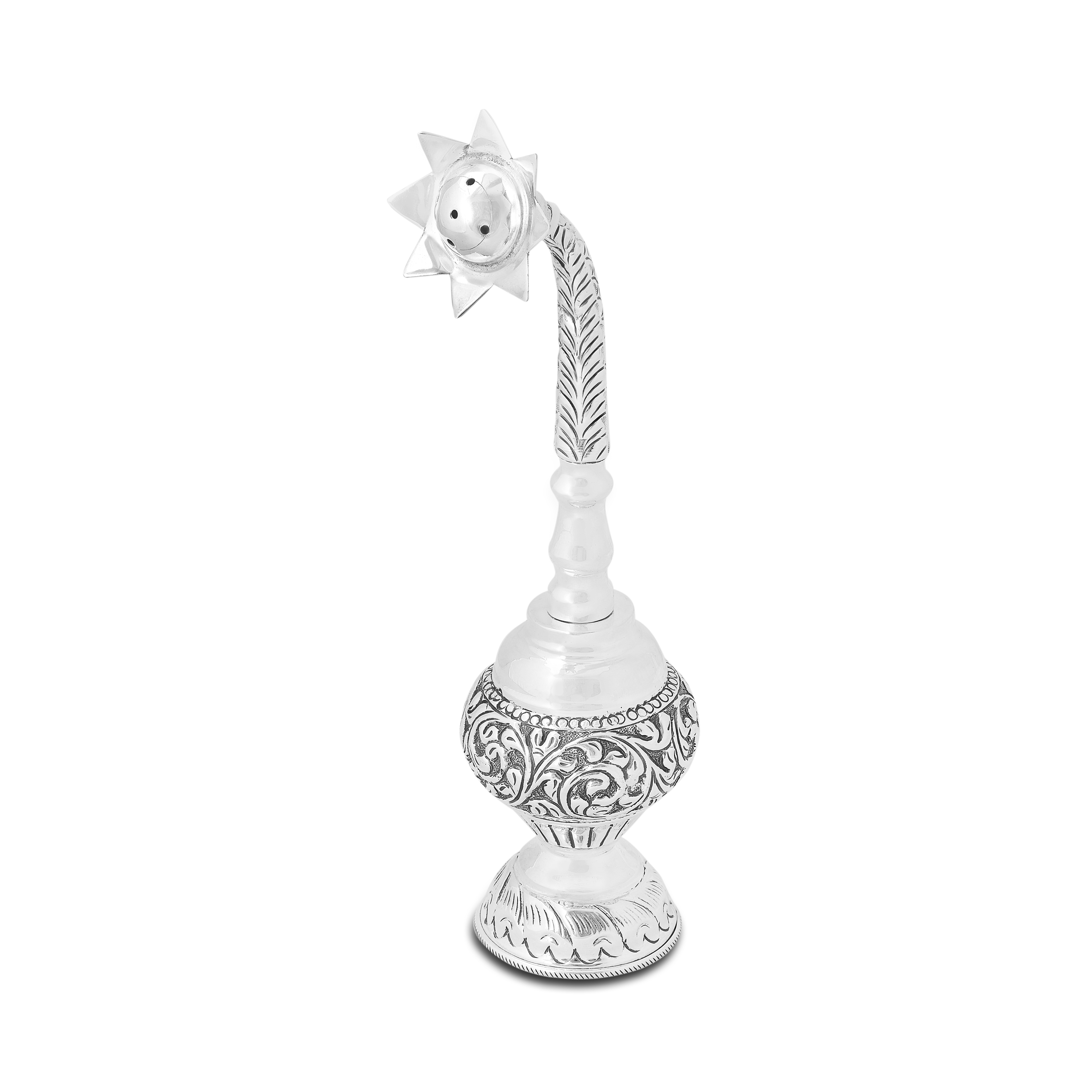 Silver Gulabdani by PNG Jewellers.
