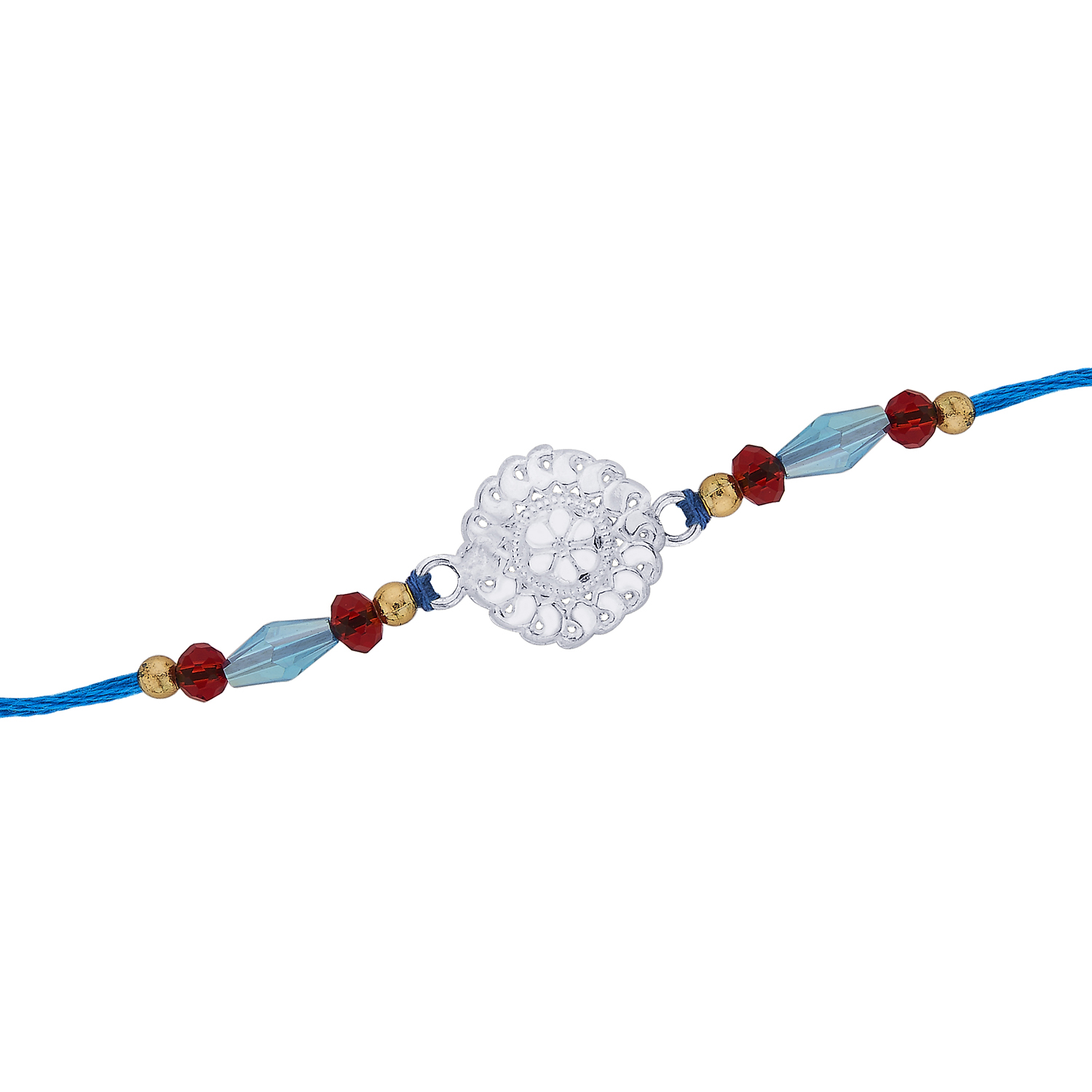 Attractive Floral Dome Rakhi.