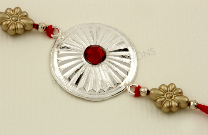 Pin by PN Gadgil & Sons on Silver Rakhi.