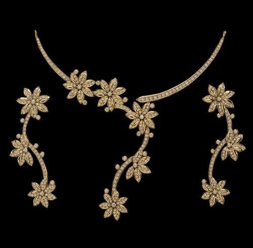 Diamond Necklaces.