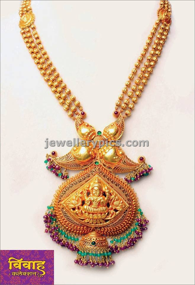 Adorable Antique long necklace by PNG jewellers.