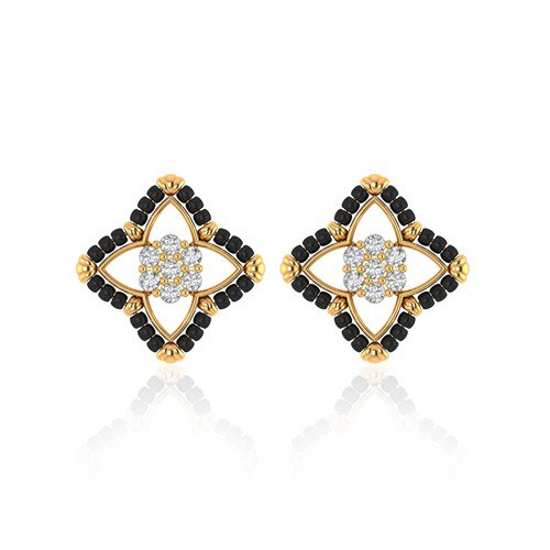 Latest Collection Of Gold Earrings Online.