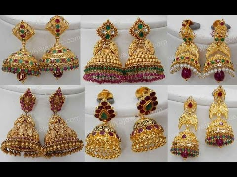 Traditional Jhumka Designs.