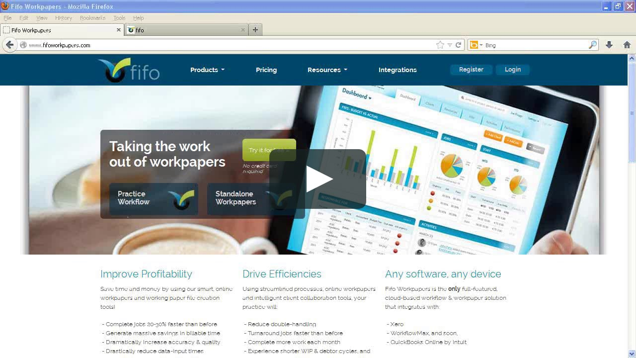 Introduction to Fifo Workpapers.
