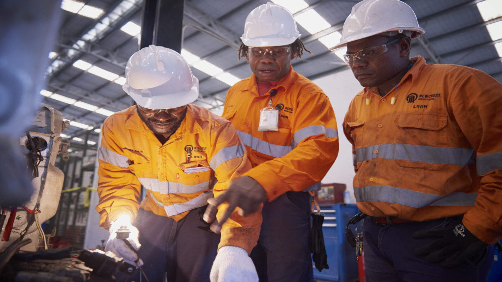 Newcrest, major backer of PNG Mining and Petroleum.