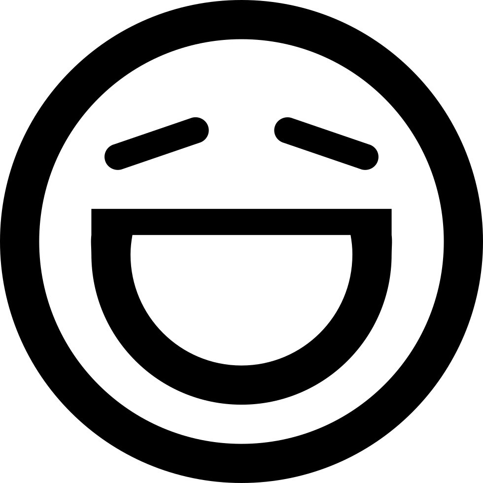 Thick Version Of Funny Jokes Svg Png Icon Free Download.
