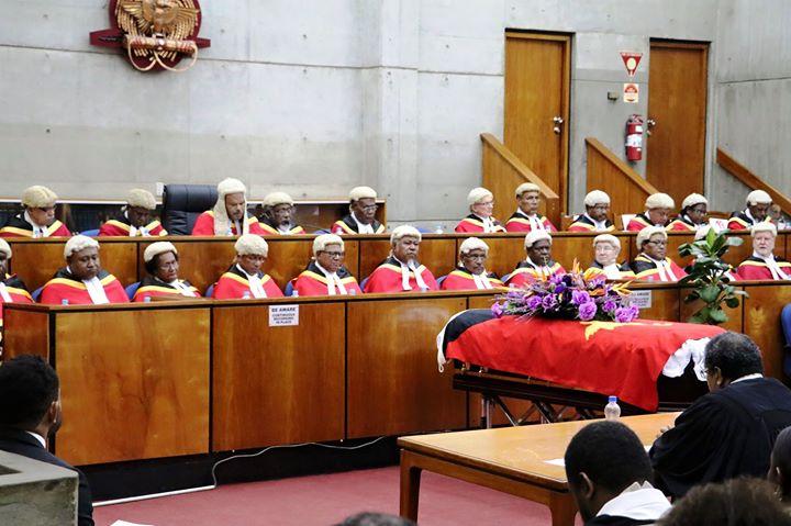 PNG Judiciary farewelss late judge Davani.