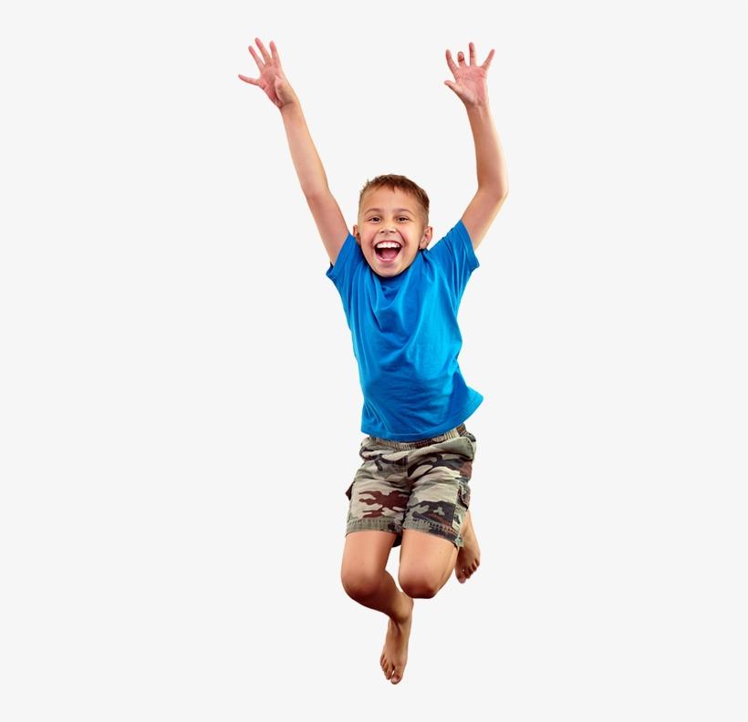 Kid Jumping Png.