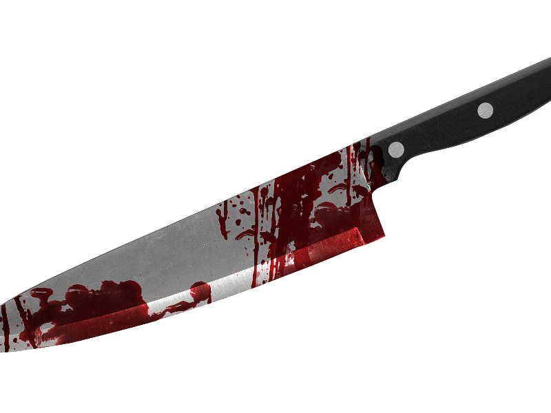 Bloody Knife PNG Free (Isolated.