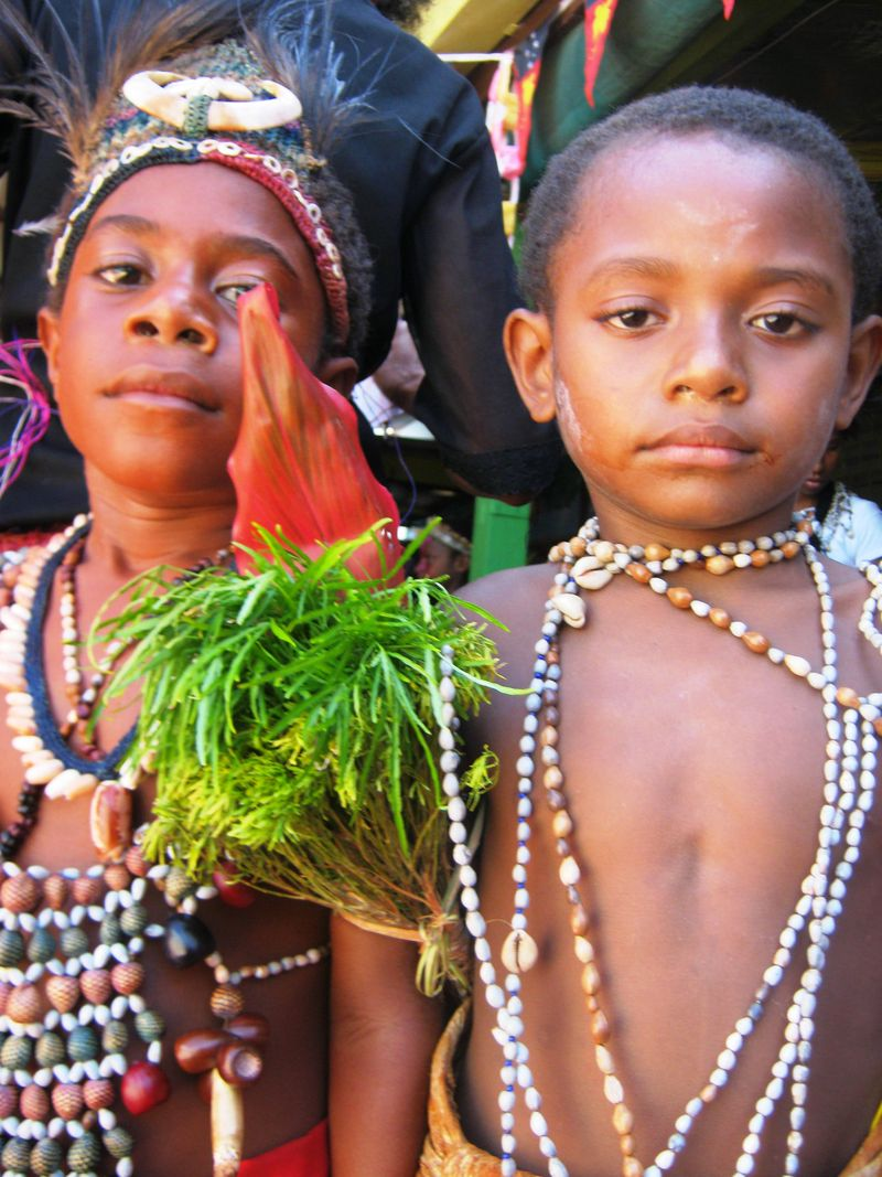 Nineteen years and counting in Papua New Guinea.