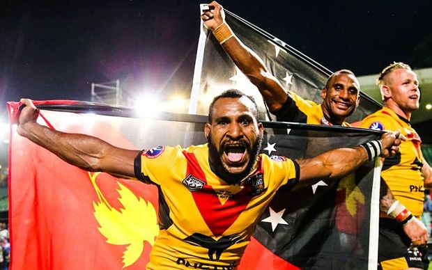 Sport: PNG Kumuls to change Rugby League World Cup plans.