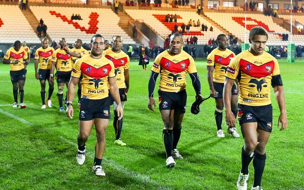 Sport: PNG Kumuls squad close to being finalised.