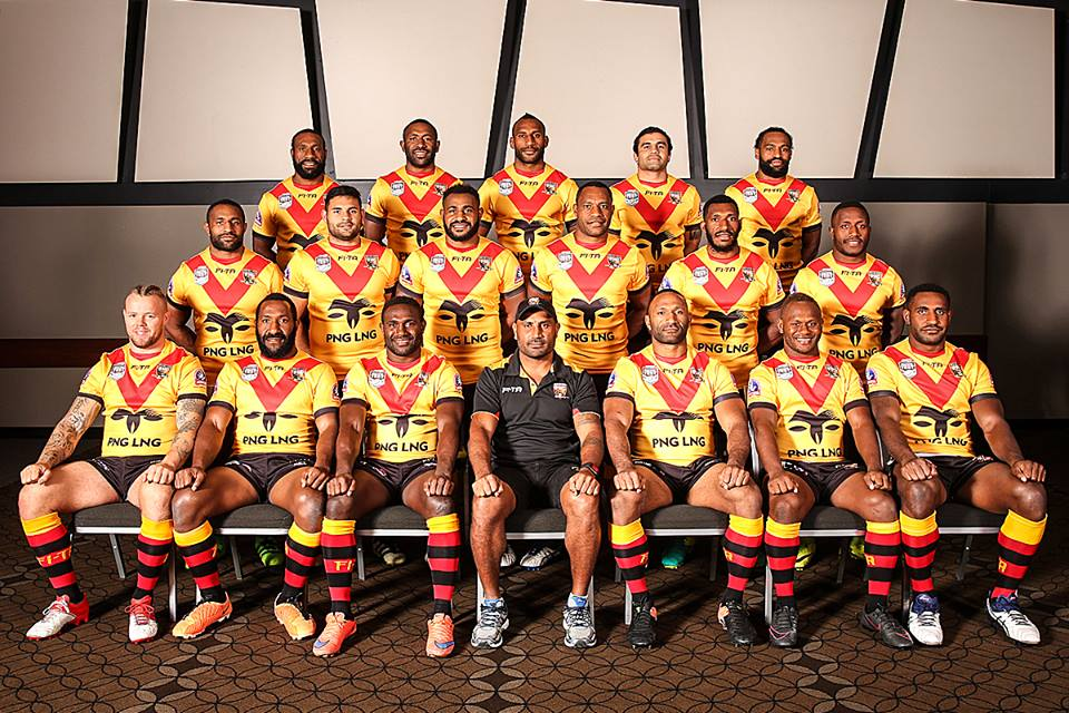 Kaulga\'s Travel Diary: PNG Kumuls team for the Pacific test.