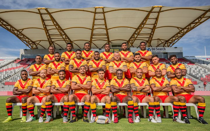 Sport: Anticipation building in PNG for World Cup opener.
