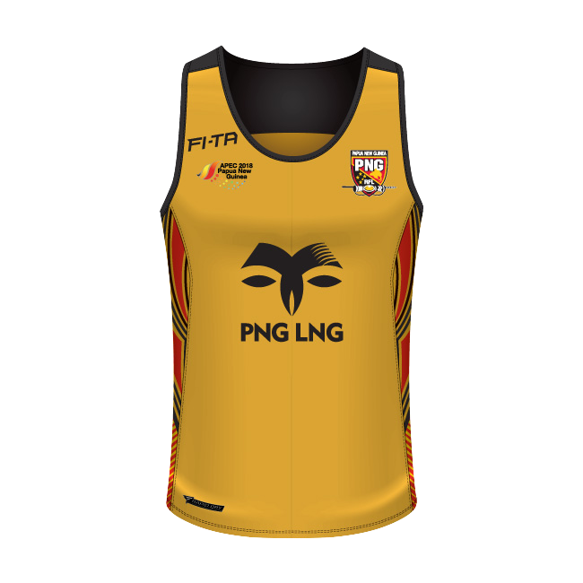 Papua New Guinea training singlet.