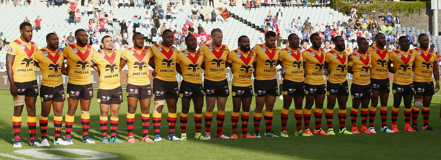 Hunters dominate Kumuls for Pacific Test.