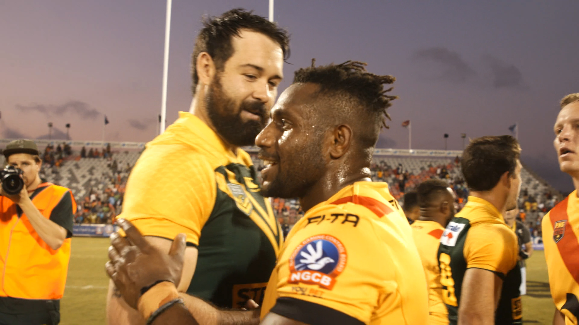 Match Highlights: Prime Minister\'s XIII v PNG, 2018.