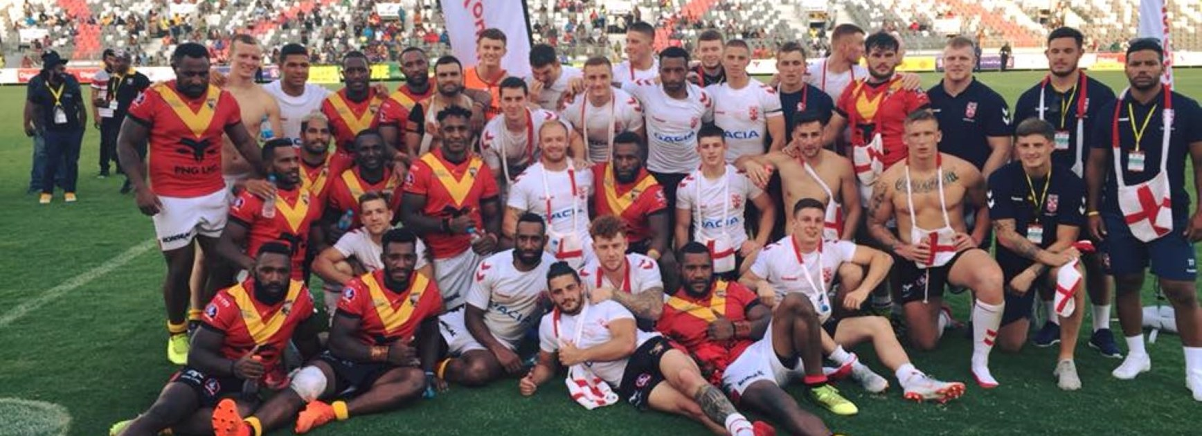 Kumuls draw series with England Knights.